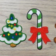 Order Your Patch and get 3 most popular Christmas Embroidered Patches for Free!