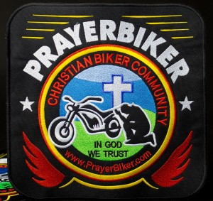 in god we trust biker community embroidered patch