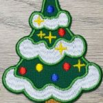Christmas tree Patch