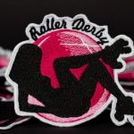 How we made embroidered patch for canadian roller derby team