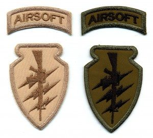 airsoft paintball patch