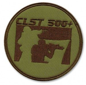clst 500 paintball team patch