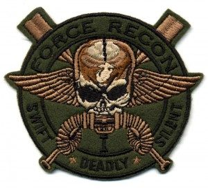 force recon paintball patch