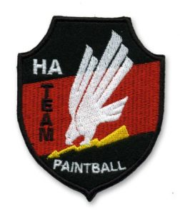 ha team paintball patch