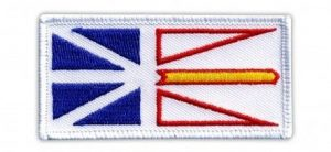Newfoundland Flag Patch
