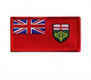 Ontario flag patch