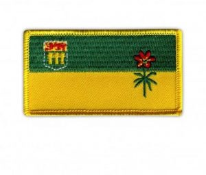 saskatchewan flag patch